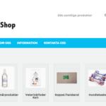 Ny webbutik